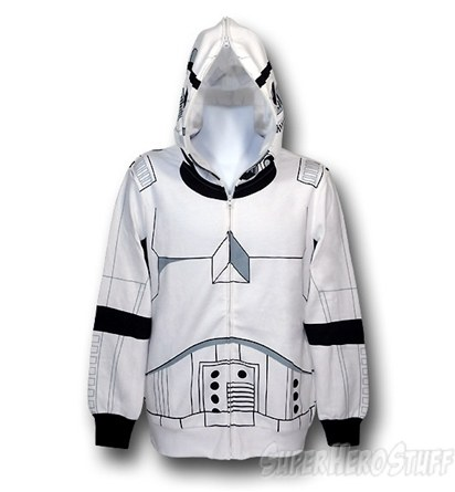 Star Wars - Stormtrooper Zip-Up Costume Hoodie
