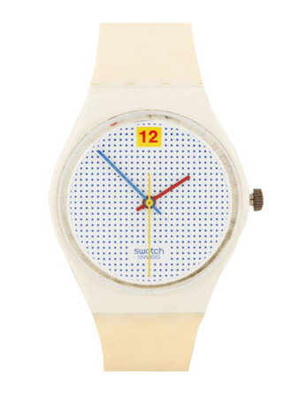 Swatch - Vintage Swatch Dotted Swiss Watch