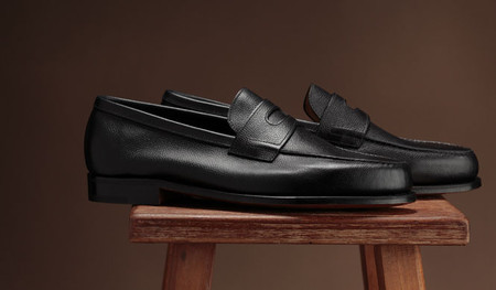 John Lobb - RIO II Deep Blue Courchevel Calf