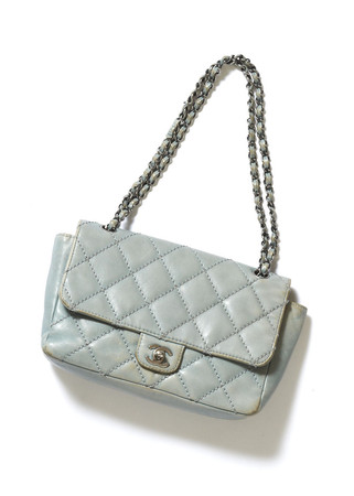 CHANEL - Leather Quilting Chain Bag