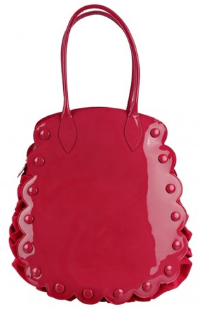 Minna Parikka - Minna Parikka Maxine Bag Pink patent leather-pink suede