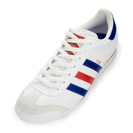 "adidas originals - ""Rom"" (White / Blue / Light Scarlet)"