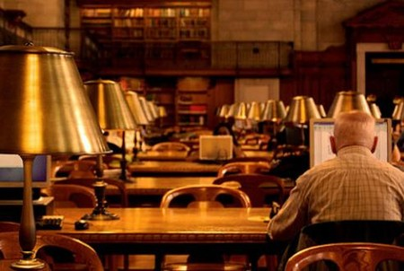 best spots for silence - New York Public Library