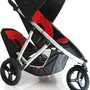 phil & teds - double stroller VIBE Red/Black