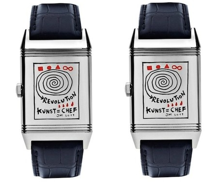 Jaeger-LeCoultre - Reverso Watch/ Customized by Jonathan Meese