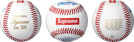 Supreme - Supreme/Rawlings Baseball