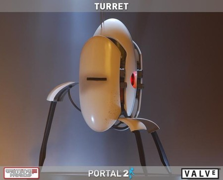 Gaming Heads - TURRET / Portal 2