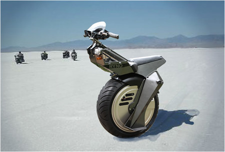 RYNO Motors - Micro Cycle Single Wheeled Personal Transport