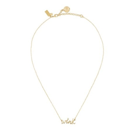 kate spade NEW YORK - say yes wink necklace