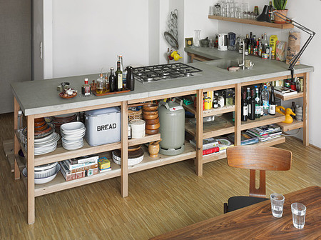 Rainer Spehl - Concrete & Oak Kitchen