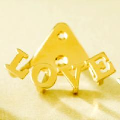 "ete, 一ツ山佳子 - Collaborated Jewelry - Wrap colleltion - ""LOVE"""