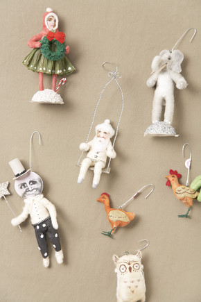 Vintage By Crystal  - X'mas Ornament