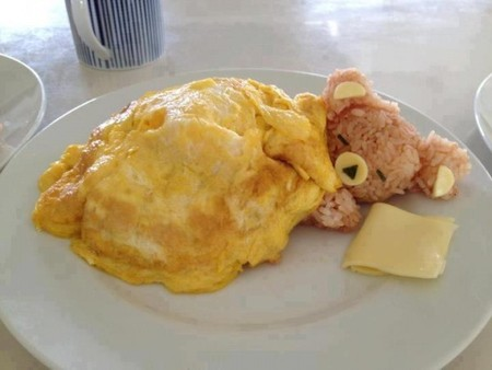 Sleepy Bear omurice