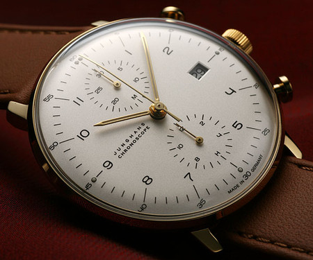 JUNGHANS - JUNGHANS クロノスコープ(Max Bill Chrono Scope) / Ref.027/7800.00