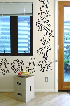 """Blik - """"Dancers by keith haring"""" /  Wall Decals"""