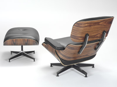 Herman Miller - Lounge Chair & Ottoman by Charles & Ray Eames