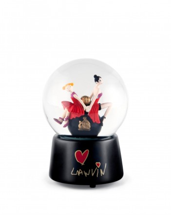 LANVIN - Mother and daughter snowglobe