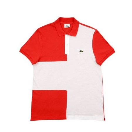 LACOSTE - Polo - Suisse Flag