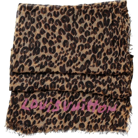 Louis Vuitton - Stephen Sprouse Leopard Scarf