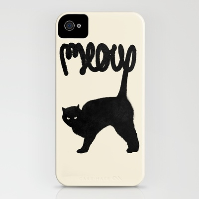 society6 - Meow iPhone Case