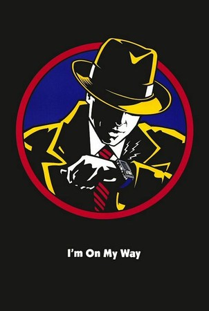 Johnny Kwan - Dick Tracy Movie Poster.  artwork by Johnny Kwan