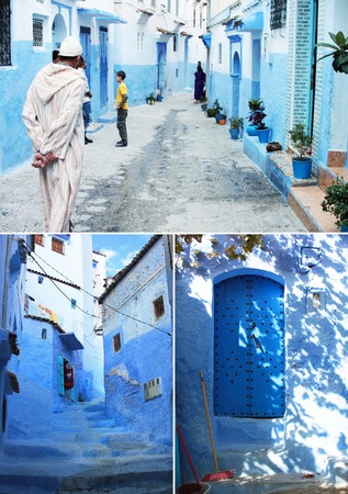 Chefchaouen, Morocco - Blue Streets of Chefchaouen