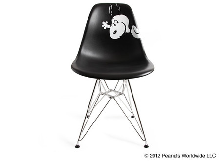"""HERMAN MILLER - EAMES SHELL CHAIR """"SNOOPY"""""""