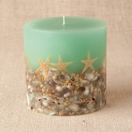 ROSY RINGS - Beach HouseBotanical Candle