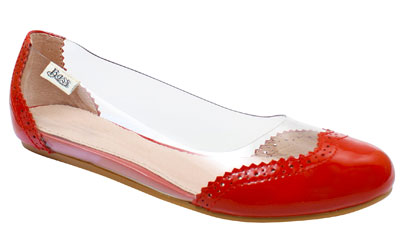 BASS ♥ RACHEL ANTONOFF - BOWERS CORAL/CLEAR
