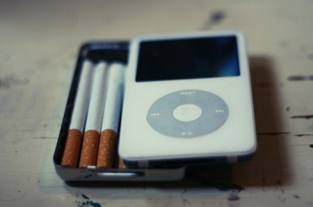iPod Cigarette Case