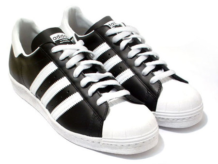 adidas - Superstar 80's BK/WH