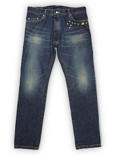 PEEL & LIFT - STUDS DENIM PANTS