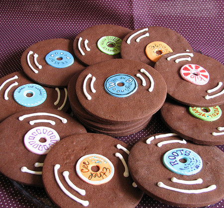 Whipped Bakeshop - Chocolate Record Cookies