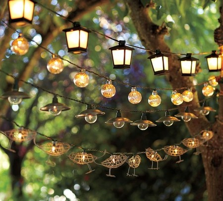 Pottery Barn - Mercury Glass Globe String Lights and so on...