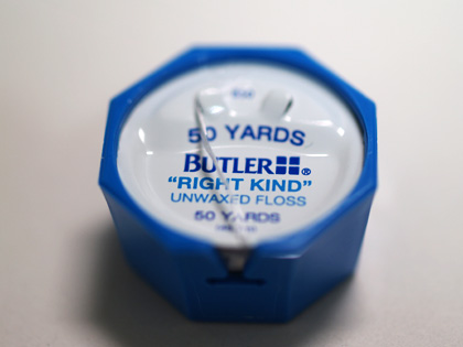 BUTLER - Right Kind Unwaxed Floss