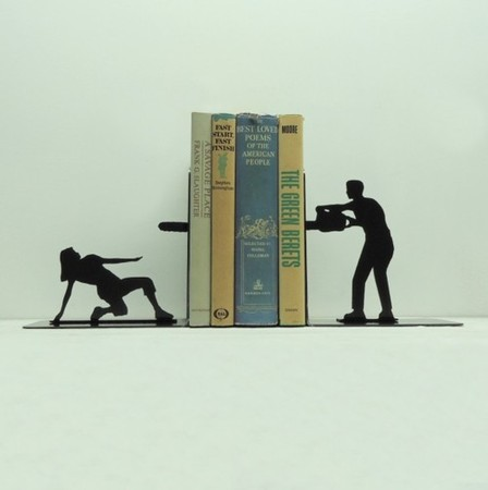 Knob Creek Metal Arts - Book Ends